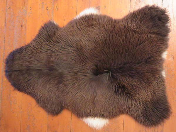 TORWEN BADGER FACE LAMBSKIN